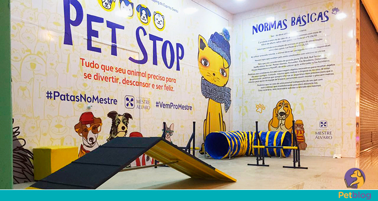 Pet Stop no Shopping Mestre Álvaro