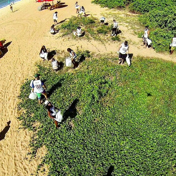 Campanha de Limpeza de Áreas Naturais: 800 voluntários devem participar da Edição 100 da campanha neste domingo, em Vila Velha