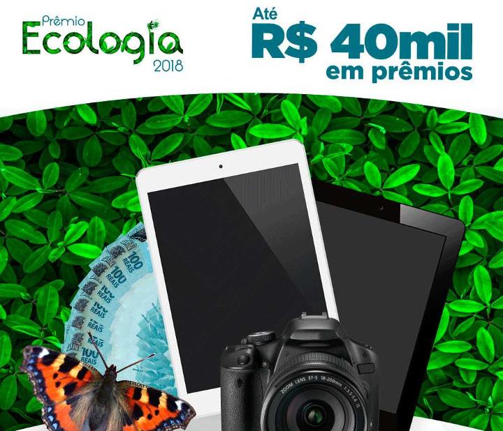 Inscrições para o Prêmio Ecologia são prorrogadas. Veja a nova data!